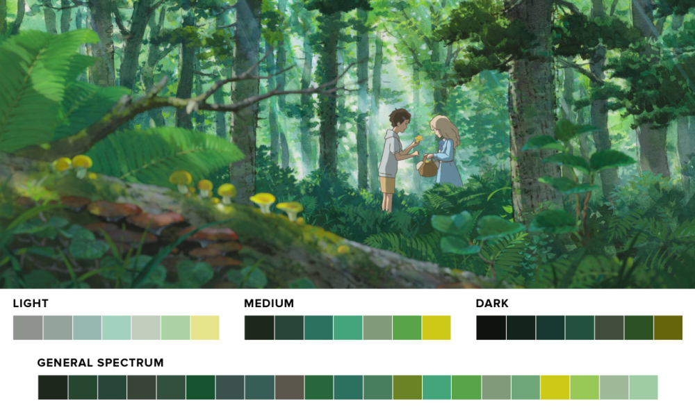 color themes of movies