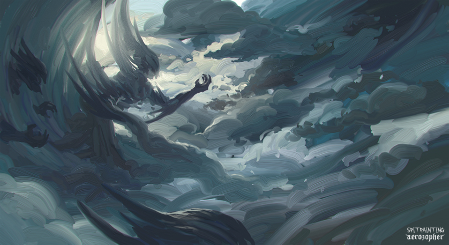 weather demon spitpainting