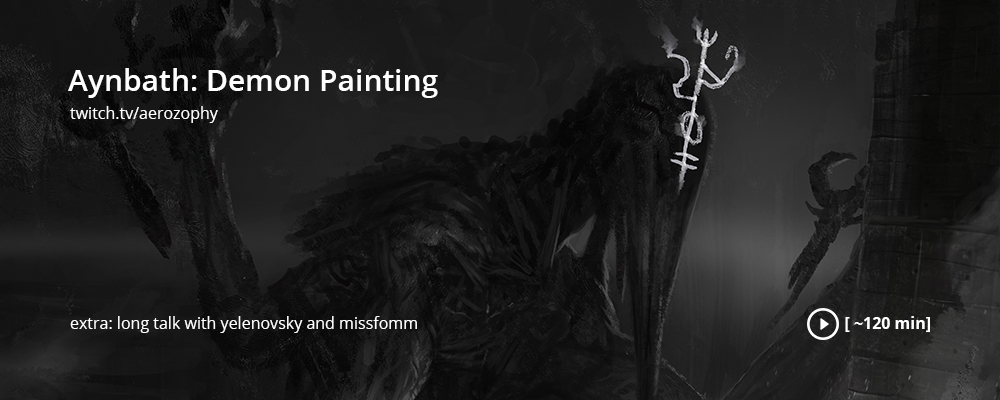 how to paint a demon