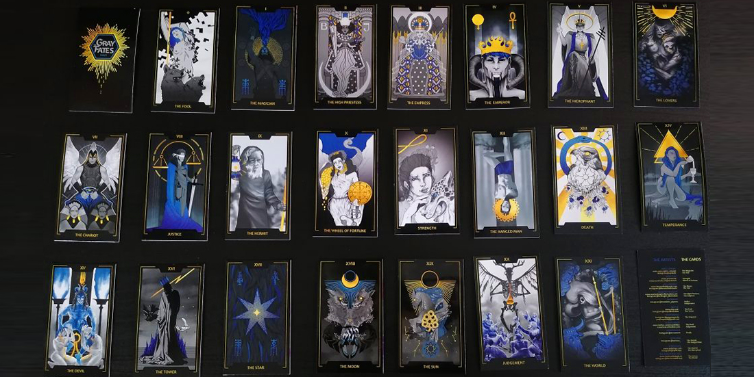 gray fates tarot set
